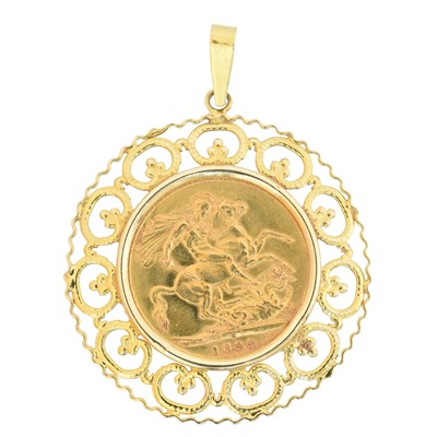 Lot 66 - A Victorian sovereign