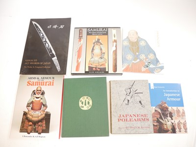 Lot 8 - Six reference books relating to Japanese swords, arms and armour.