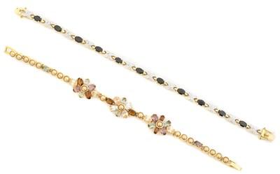 Lot 12 - Two bracelets