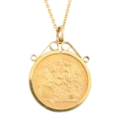 Lot 69 - A Victorian sovereign