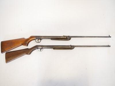 Lot Two break barrel .177 air rifles