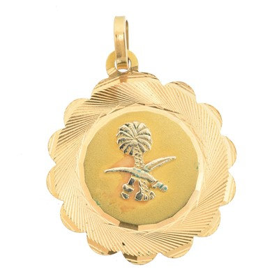 Lot 27 - A medallion