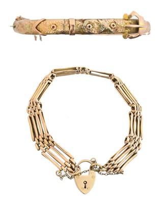 Lot 13 - Two bracelets