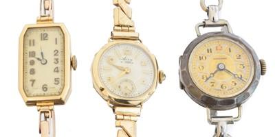 Lot 108 - Three watches