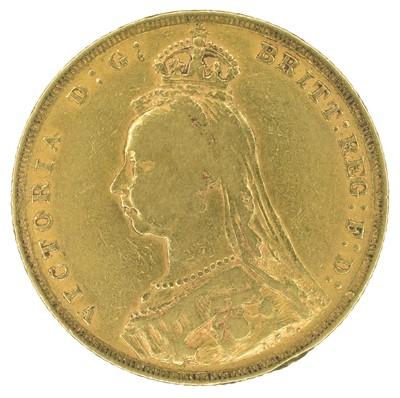 Lot 31 - Queen Victoria, Sovereign, 1889.