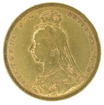 Lot 32 - Queen Victoria, Sovereign, 1891.