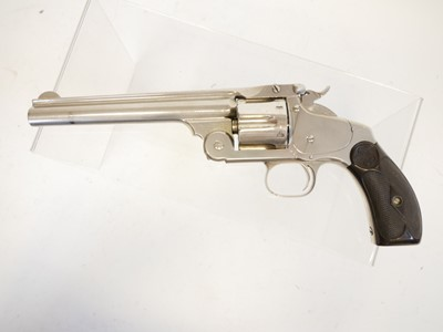 Lot Smith and Wesson .44 Russian revolver LICENCE REQUIRED