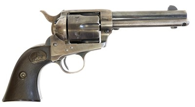 Lot Colt SAA 41 Colt revolver LICENCE REQUIRED