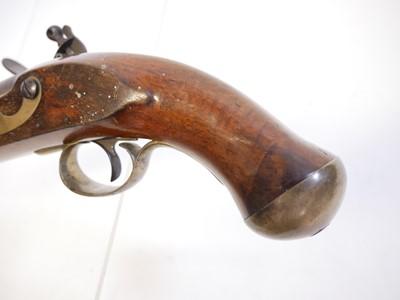Lot William IV flintlock New Land pattern pistol
