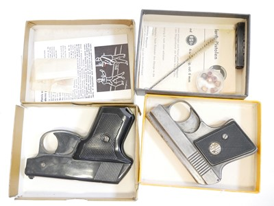 Lot Two boxed starting pistols LICENCE REQUIRED