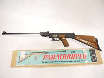 Lot ASI Paratrooper boxed air rifle