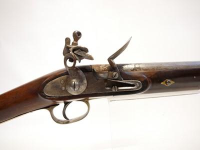 Lot Composed flintlock carbine
