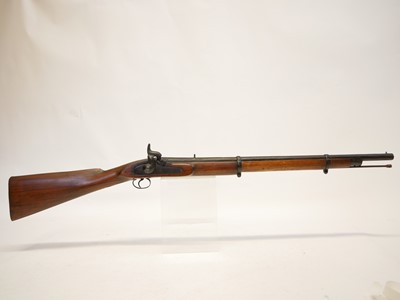 Lot Indian percussion carbine