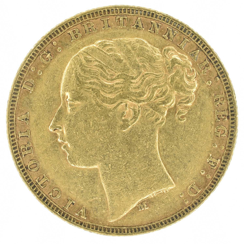 Lot 34 - Queen Victoria, Sovereign, 1878, Melbourne Mint.
