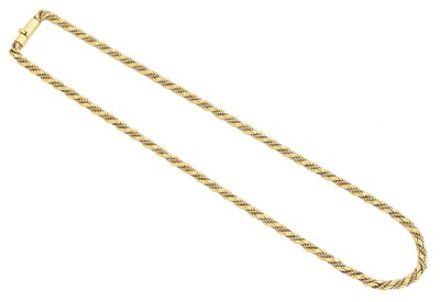Lot 91 - A chain necklace