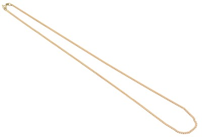 Lot 93 - A 9ct gold chain necklace