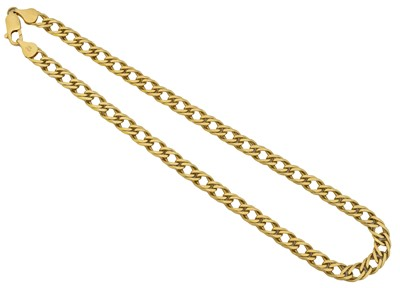 Lot 98 - A chain necklace