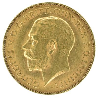 Lot 44 - King George V, Half-Sovereign, 1913.