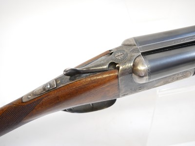 Lot AYA No.4 12 bore side by side shotgun LICENCE REQUIRED