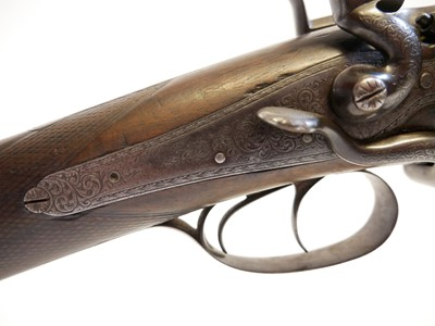 Lot 12 bore hammer gun by C Newton LICENCE REQUIRED