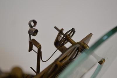 Lot Electric Clock by The Reason MFG Co. Ltd., Brighton