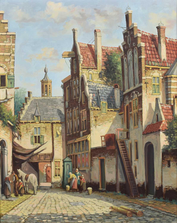 Lot 74 - Pieter Cornelis Steenhouwer (1896-1972)