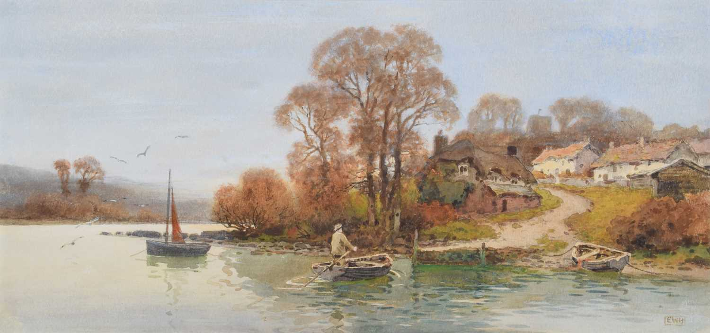 Lot 10 - Ernest Witton Hazelhurst R.B.A., R.I. (British 1866-1949)