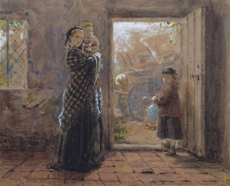 Lot 85 - George Goodwin Kilburne (British 1839-1924)