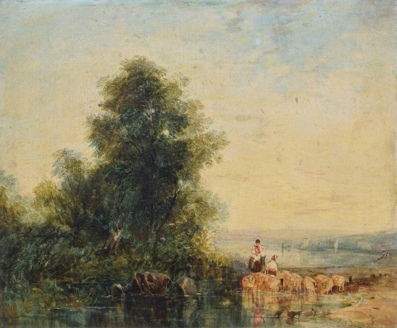 Lot 49 - Thomas Creswick (1811-1869)