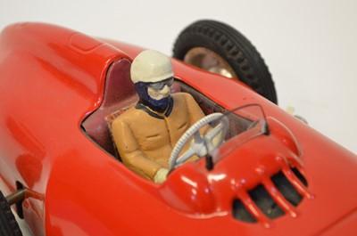 Lot JNF Tinplate Mercedes Type 196 Formula 1 racing car