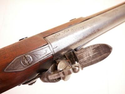 Lot Flintlock pistol by Williams