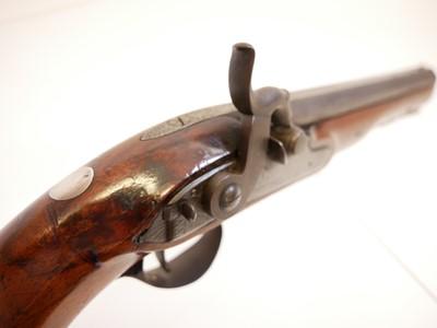 Lot Percussion belt pistol by R.E. Pritchett