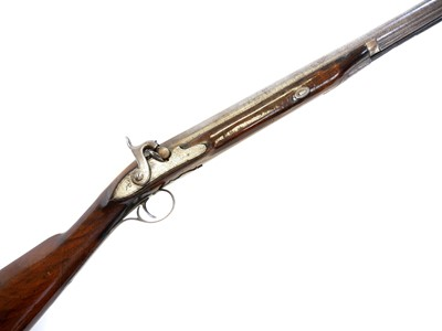 Lot Percussion shotgun by Lowe of Chester