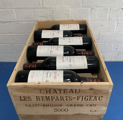 Lot 8 - 12 Bottles (in OWC) Chateau Les Remparts