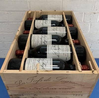 Lot 14 - 12 Bottles (in OWC) 'Les Fiefs de Lagrange' St Julien 1996 (11 hin, 1 i/n)