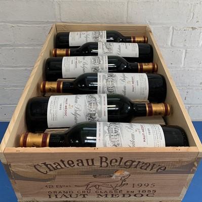 Lot 15 - 12 Bottles (in OWC) Chateau Belgrave Grand Cru Classe Haut-Medoc 1995