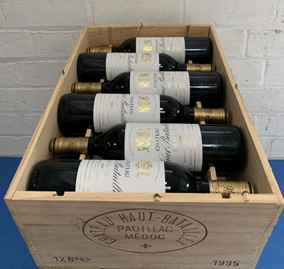 Lot 16 - 12 Bottles (in OWC) Chateau Haut Batailley Grand Cru Classe Pauillac 1995