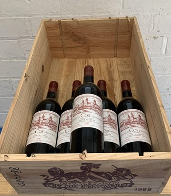 Lot 19 - 5 Bottles (in OWC) Chateau Cos d'Estournel Grand Cru Classe St Estephe 1985 (all i/n)