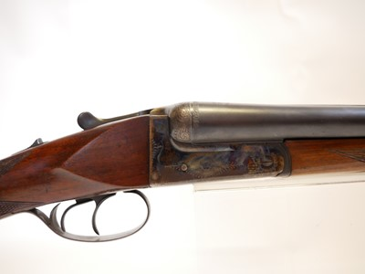 Lot Larouna 12 bore side by side shotgun LICENCE REQUIRED