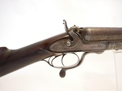 Lot John Rigby 10 bore shotgun