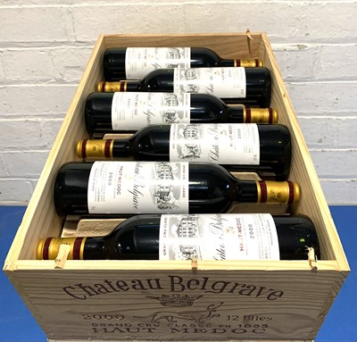 Lot 37 - 12 Bottles (in OWC) Chateau Belgrave Grand Cru Classe Haut-Medoc 2000