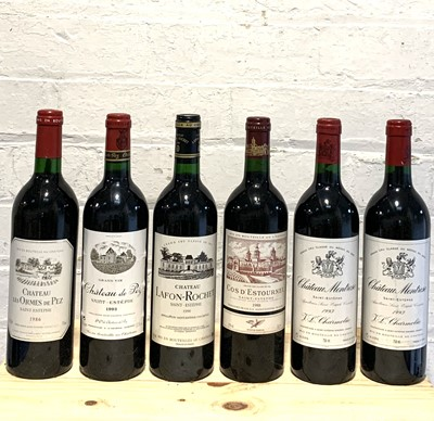 Lot 39 - 6 Bottles Mixed Lot of Mature Claret to include Classified Growths