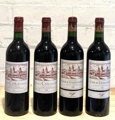 Lot 40 - 4 Bottles 'Flight' Chateau Cos d'Estournel Grand Cru Classe St Estephe
