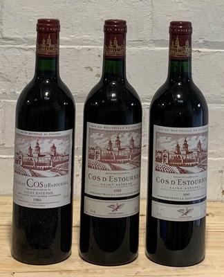 Lot 41 - 3 Bottles 'Flight' Chateau Cos d'Estournel Grand Cru Classe St Estephe