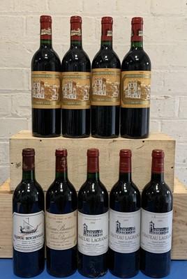 Lot 48 - 9 Bottles Mixed Lot Fine Classified Growth St Julien Claret