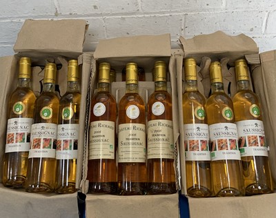 Lot 62 - 18 x 50 cl Bottles Chateau Richard 'Tradition' Saussignac from Vintages 2013 and 2008