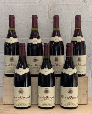Lot 85 - 7 Bottles Clos de Vougeot Grand Cru from Domaine Jean-Marc Millot