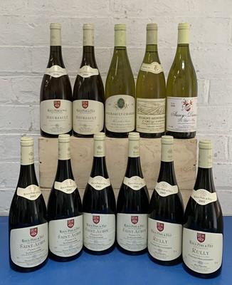 Lot 89 - 11 Bottles Fine White Burgundy