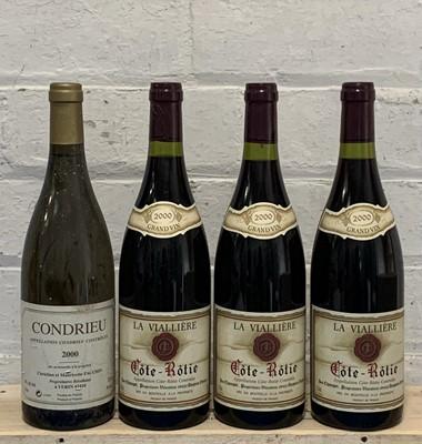 Lot 93 - 4 Bottles Mixed Lot Condrieu and Cote Rotie
