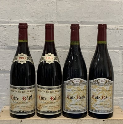 Lot 94 - 4 Bottles Cote Rotie from Domaine Jasmin